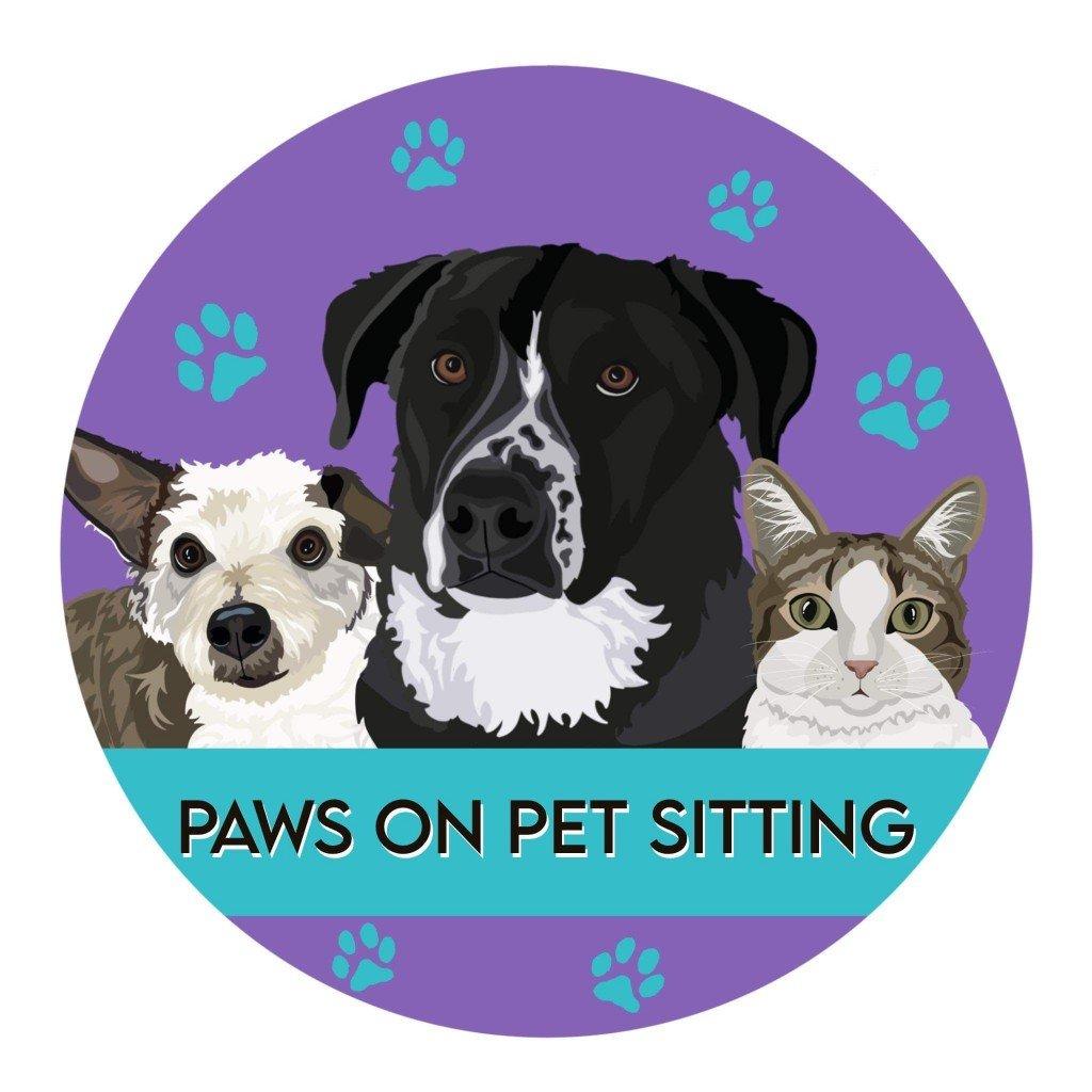 Paws On Pet Sitting Logo