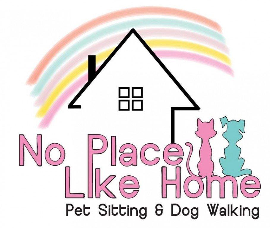 No Place Like Home Pet Sitting & Dog Walking Logo