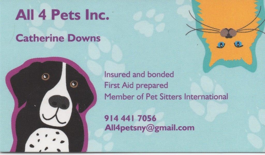 All 4 Pets Inc. Logo