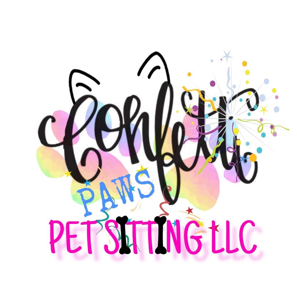 Confetti Paws Pet Sitting LLC Logo