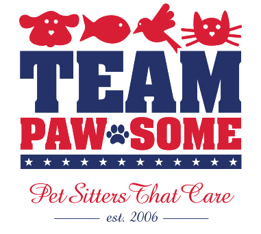 Team Paw-Some Pet Sitters Logo