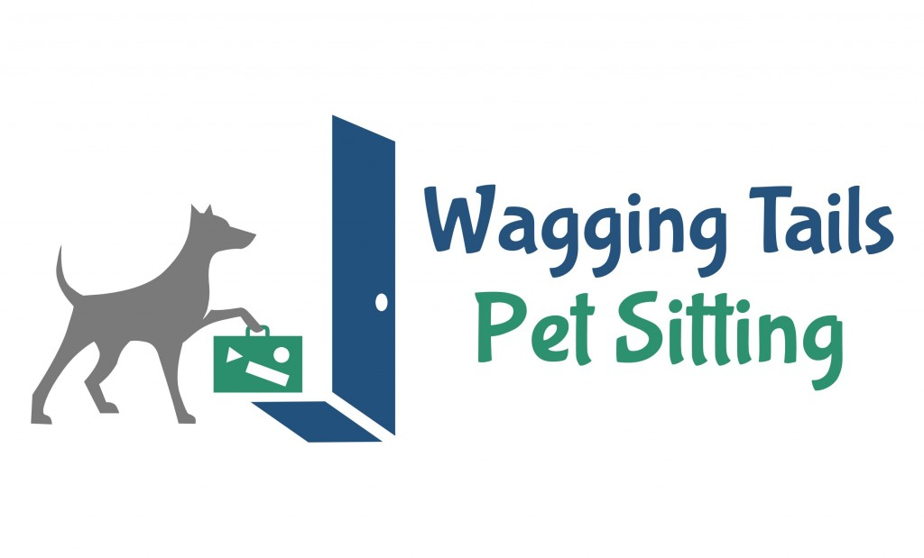 Wagging Tails Pet Sitting Logo
