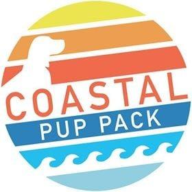 Coastal Pup Pack Logo
