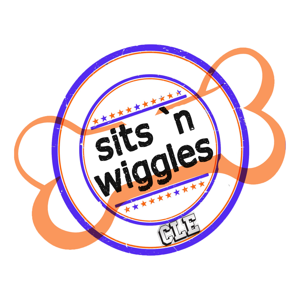 Sits n Wiggles Pet Care & Training Logo